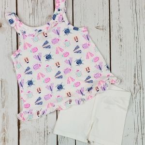 Baby Girls Summer Outfit, Size 12 Months